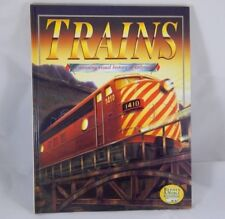 Trains: A Stunning Visual History of Railroads Book 2000 HARDCOVER 0-7607-0289-6