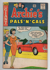 Archie Comics Archie'S Pals N Gals 33 1965
