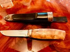 Vintage and Rare~ Puukko Knife from Norway's Leading Silversmith David Andersen