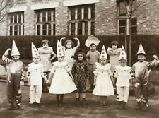 G. Navarret — enfants déguisés costume —  tirage argentique — La  Courneuve 1939
