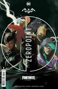 Batman Fortnite: Zero Point #1  Second Print Bagged DC Comics 2021  NM+ 9.6