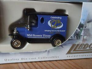 Lledo LP06, Model T Ford Van, Mid Sussex Times, Celebrating 125 years - 2006