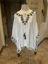 Letarte Luxe Swimsuit Cover Cream Ivory Mirror Accents XS NWT (140)