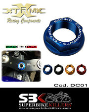 Steering head nut,EXTREME,Suzuki GSXR 1000 K3 K4 K5 K6 K7 K8 K9 L0 L1,Blue,DC01