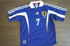 Japan 100% Authentic Soccer Player Issue Jersey 1999/2000 Home USED #7 [2862]