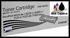Fuji Xerox Genuine CT202330 DocuPrint P225D P265DW M225Z High Yield Toner - 2.6k