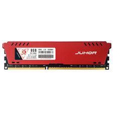 Juhor DDR3 1600mhz 1.5v 240 pin memoria RAM con disipador de calor para PC Y7g7