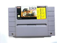 Radical Psycho Machine Racing SNES Super Nintendo Game Tested Working Authentic