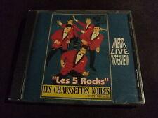 """RARE! CD NEUF """"LES 5 ROCKS"""" Les Chaussettes Noires (inedit live interview)"""