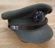 Irish Defence Forces Officers Peaked Cap & Badge....army hat patch military
