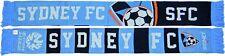 Sydney FC Sky Blues A League Banner Jacquard Scarf!! BNWT's!