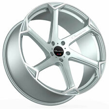 """24"""" Giovanna Dalar-X Silver 24x10 Concave Wheels Rims Fits Ford Expedition"""