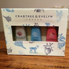 Crabtree & Evelyn Ultra Moisturising Hand Therapy Gift Set 3 X 25g New