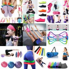 Exercise Fitness Yoga Mat Gym Ball Socks Headband Pilates Sport Auxiliary Tool