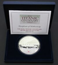 2012 Cook Is. RMS Titanic Centenary Silver Proof 5oz Coin .925 Silver