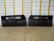 78-87 Olds Oldsmobile Cutlass Left Right MAROON Power Interior Door Panel SET