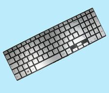 DE Tastatur f. Samsung NP770Z5E NP780Z5E Series mit Beleuchtung Silber