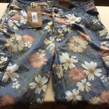 Cargo, Combat Floral Regular Size Shorts for Men