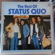 STATUS QUO LP THE BEST OF 1980 GERMANY VG++/VG+