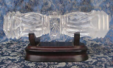 Antique pure natural himalayan crystal hand carved Door handal, nepal