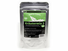 GlasGarten Shrimp Snacks Herb Mix +Mint - Food for Cherry Crystal Tiger Shrimp