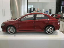 1:18 CSM MITSUBISHI LANCER EVO EVOLUTION X RHD WITH BBS WHEELS RED *NEW*