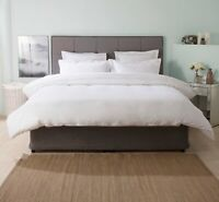 1000 Thread Count Ultralux Cotton Rich Bed Linen in White by Belledorm