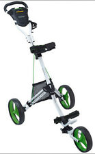 BagBoy Express DLX Pro Push Cart White/Lime