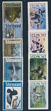 #VT1-VT9 (9) DIFF MINT NH VERMONT STATE DUCK STAMPS BROOKMAN CV $116 BT3963