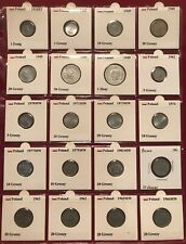 Poland Coin Lot (1918-2008) - 164 Coins here with Commemoratives!!!