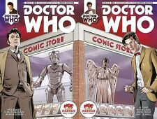 Doctor Who 10th & 11th Dr. #1 1st Print Madness Games & Comics Store Variant Set