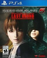 Dead or Alive 5 Last Round (Sony PlayStation 4) Brand New / Region Free