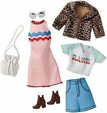 Clothes for Barbie Doll, Fashions 2-Pack - Chic Pack, Original Doll Size