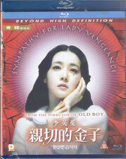 Sympathy for Lady Vengeance Blu Ray Lee Young Ae Choi Min Shik NEW Eng Sub