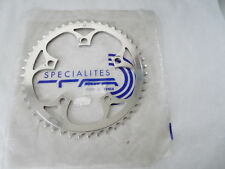 """T.A. Chainring 47T 110 BCD 47 tooth TA 3/32"""" Vintage Bicycle NOS"""
