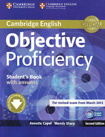 Cambridge OBJECTIVE PROFICIENCY CPE Student's Book w Answers for 2013 Exam @NEW@