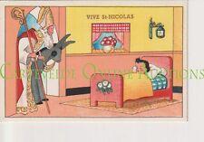 Oude Postkaart CPA Vive Saint Nicolas Sinterklaas