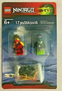 LEGO NINJAGO MINIFIGURE PACK #5003085 17 PIECES TOYS R US EXCLUSIVE **NEW**