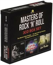 NEW..Masters of Rock 'N' Roll [3-Disc Box Set] Elvis Presley/Fats Domino  CD476