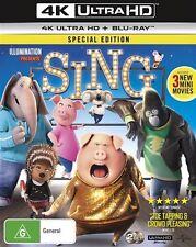 SING (2017) : NEW (4K Ultra HD - UHD) Blu-Ray