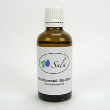 (7,38 EUR/100 ml) Sala Nachtkerzenöl Nachtkerze Öl kaltgepresst bio 50 ml