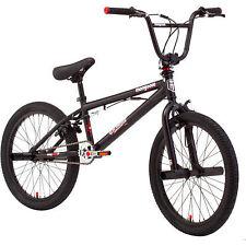 20 Mongoose Brawler Pro Style Boys BMX Freestyle Bike Rugged Steel Frame Bicycle