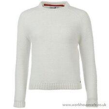 Ladies Genuine Kangol Stylish Snug Wear Cable Knit Jumper Top Knitwear  M B443-3