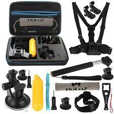 Kit Pack PULUZ 16 Accessoires Caméra GoPro Hero 4 Hero 3/3+ Hero 2 Hero 1 SJCAM