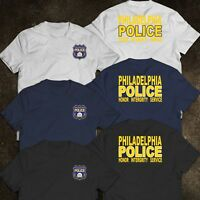 NEW Philadelphia Police Department United States Honor Integrity Service T-Shirt