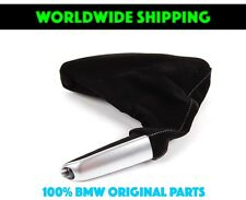 BMW E46 Performance Parking Brake Handle With Boot Alcantara Genuine New