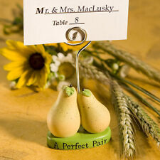 A Perfect Pair Place Card Holder