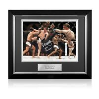 Brad Pickett Signed UFC Montage Autographed Memorabilia Deluxe Framed