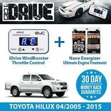 IDRIVE THROTTLE CONTROL FOR TOYOTA HILUX 04/2005 - 2015 & NANO ENERGIZER AIO