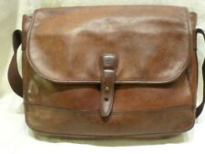 Timberland Leather Large Messenger Briefcase Laptop Shoulder Sling Purse Handbag
